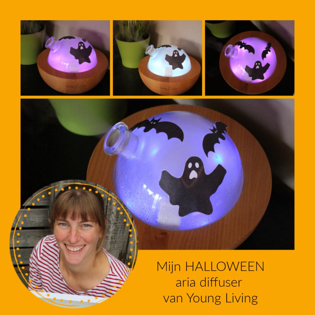 Aria diffuser van Young Living - Halloween