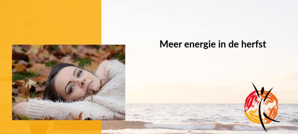 Meer energie in de herfst