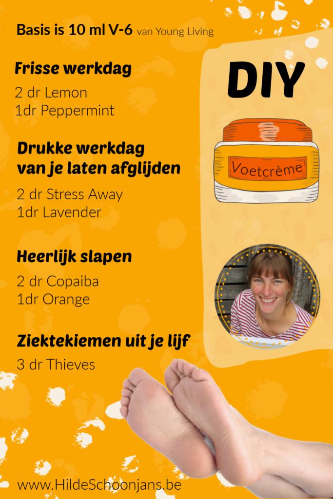DIY - voetcrème
