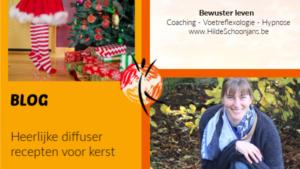 Blog - diffuserrecepten voor kerst
