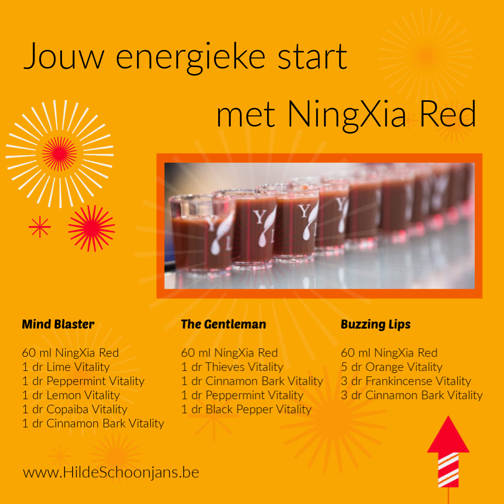 Energieke start met NingXia Red
