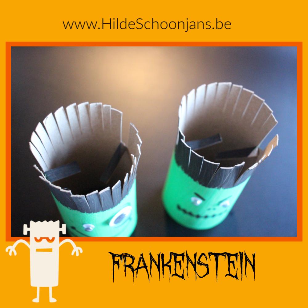 Frankenstein knutselen met kinderen