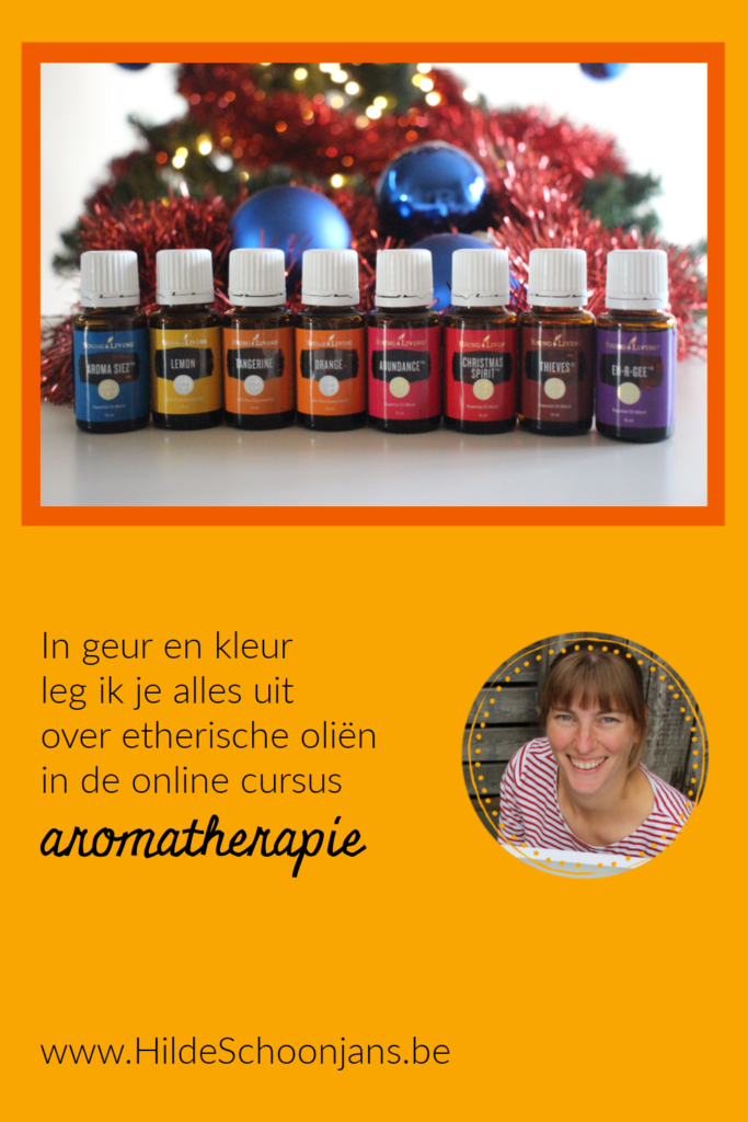 Kerst - online cursus aromatherapie