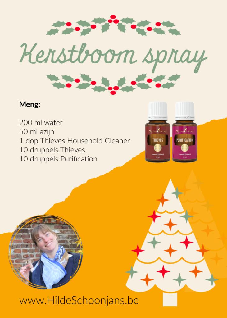 Kerstboom spray