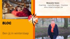 Blog - ben jij in winterslaap