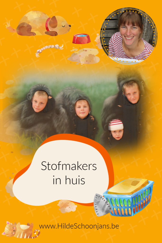 Stofmakers in huis