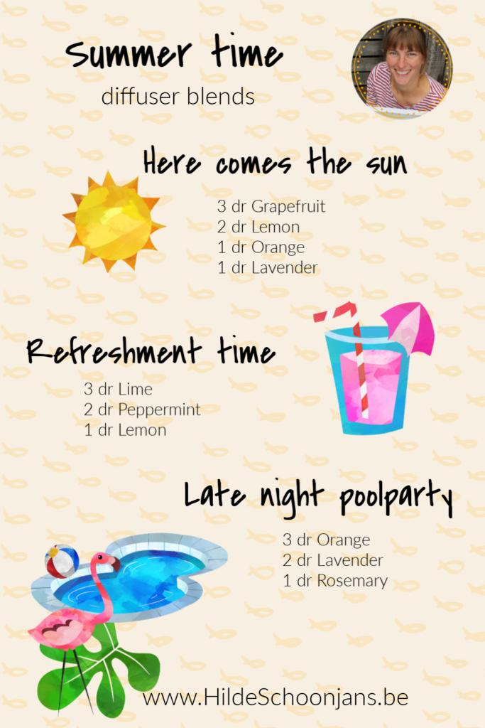 Summer time - diffuser recept