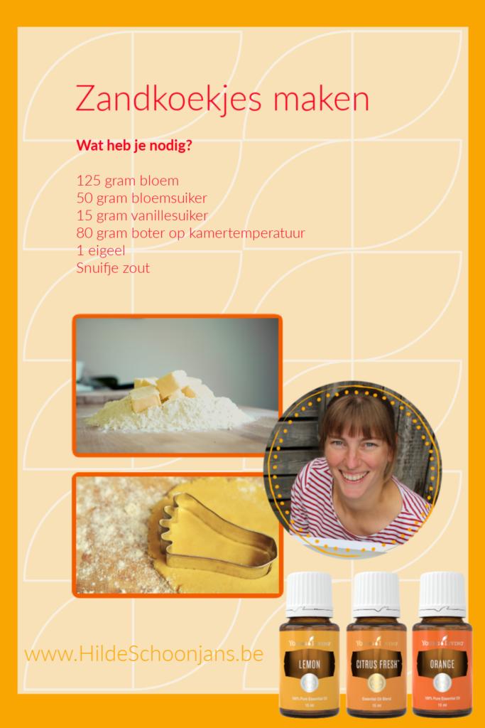 recept zandkoekjes maken