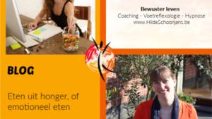 Eten uit honger, of emotioneel eten