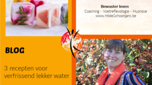 BLOG - Verfrissend lekker water – 3 recepten
