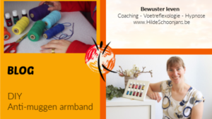 DIY Anti-muggen armband