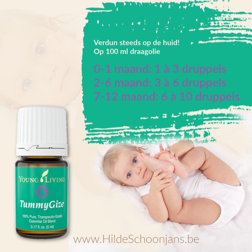 Etherische olie verdunnen bij babies