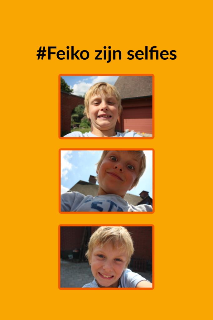 Feiko zijn selfies