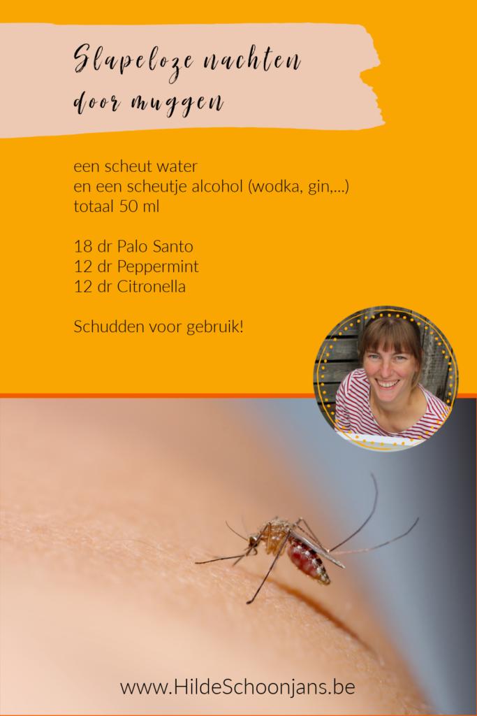Weg met muggen - spray tegen muggen