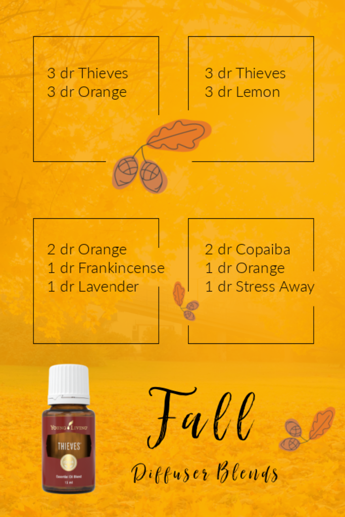 Fall Diffuser Blends Young Living