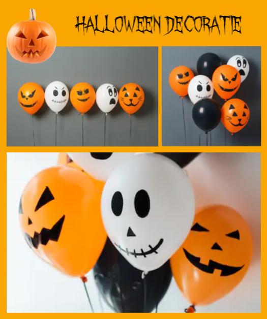 Halloween feestje - decoratie