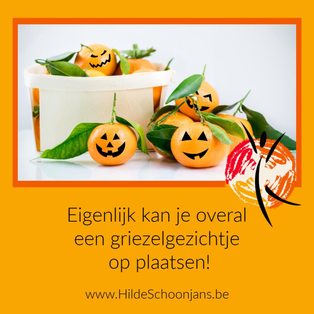 Halloween feestje - mandarijntjes