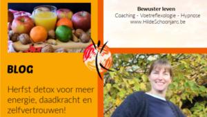 Herfst detox - blog