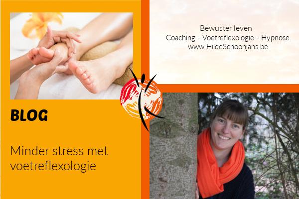 Minder stress met voetreflexologie